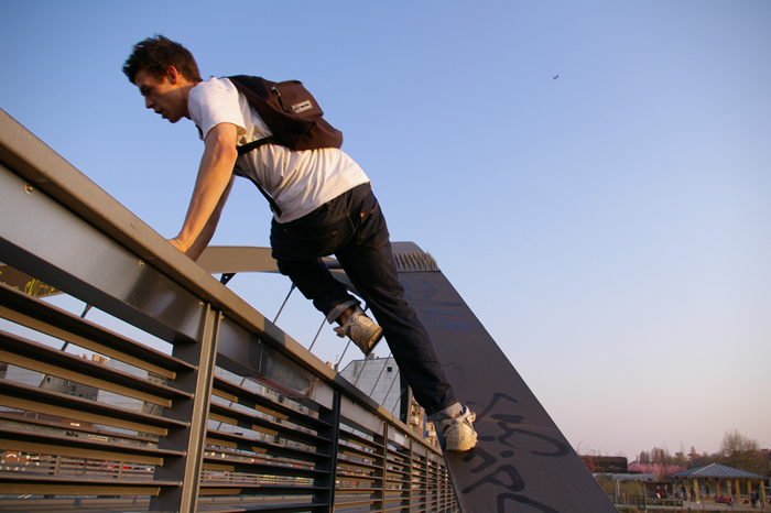 Parkour &#8211; Traceure als Stadtkletterer