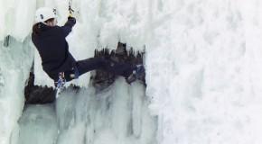 Eisklettern – wenn der Berg friert