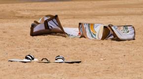 Kite Landboarding: Sport im Herbst