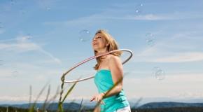Hoopdance: neuer Tanz Trend